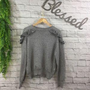 TopShop Ruffled Sweater